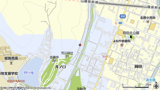 〒670-0983 兵庫県姫路市井ノ口の地図