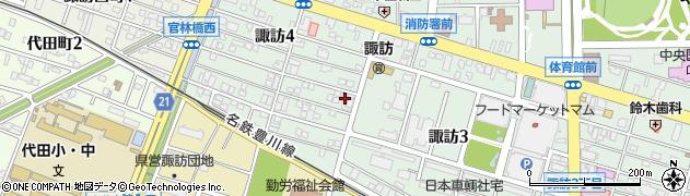 食事処丸進周辺の地図