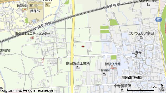 〒679-4141 兵庫県たつの市揖保町栄の地図