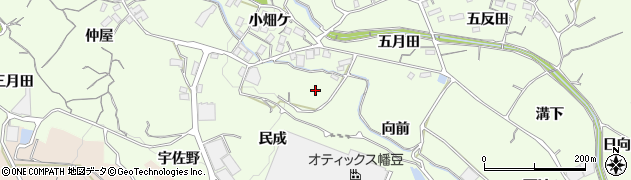 愛知県蒲郡市相楽町周辺の地図