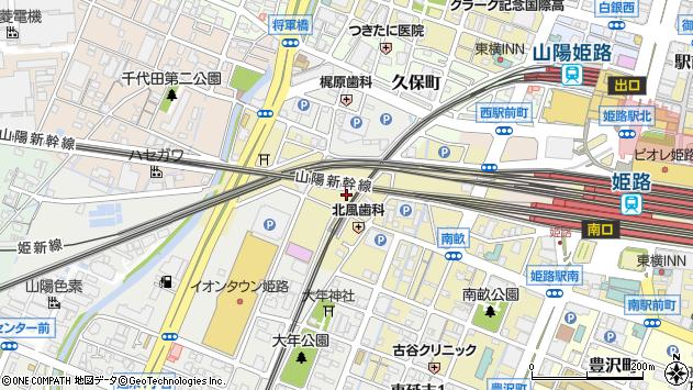 〒670-0961 兵庫県姫路市南畝町の地図