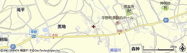 愛知県豊橋市石巻平野町(下向嶋)周辺の地図