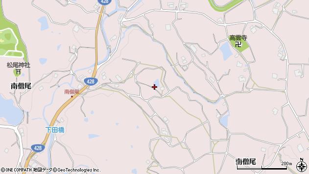 〒651-1602 兵庫県神戸市北区淡河町南僧尾の地図