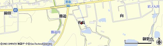 愛知県西尾市吉良町宮迫(佐長)周辺の地図