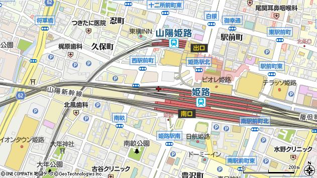 〒670-0914 兵庫県姫路市豆腐町の地図
