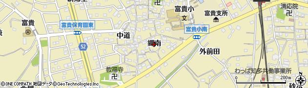 愛知県武豊町(知多郡)冨貴(郷南)周辺の地図