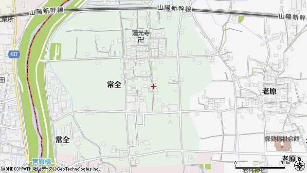 〒671-1556 兵庫県揖保郡太子町常全の地図