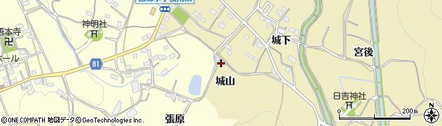 愛知県豊橋市石巻萩平町(城山)周辺の地図