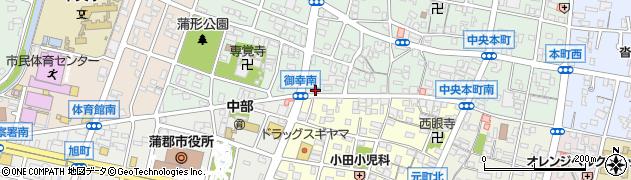 居酒屋酒こころ周辺の地図