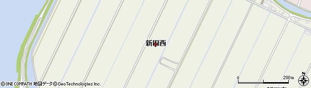 愛知県西尾市南奥田町(新田西)周辺の地図