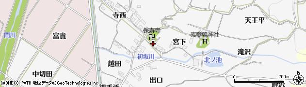 愛知県豊橋市石巻小野田町周辺の地図