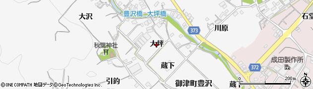 愛知県豊川市御津町豊沢(大坪)周辺の地図
