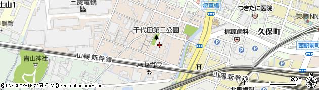 姫路西スカイハイツ周辺の地図