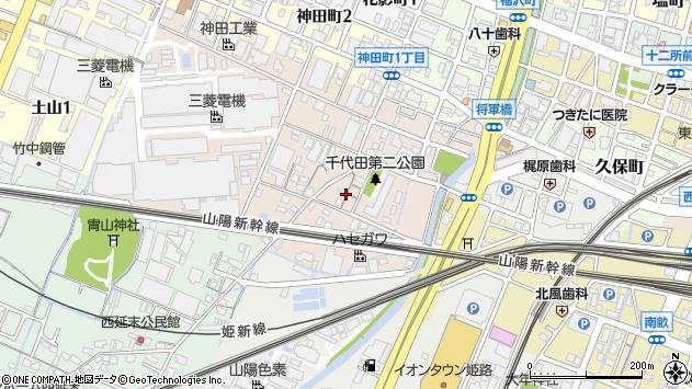 〒670-0993 兵庫県姫路市千代田町の地図