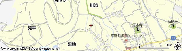 愛知県豊橋市石巻平野町(川添)周辺の地図