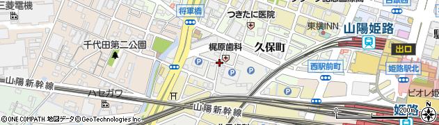 兵庫県姫路市高尾町周辺の地図