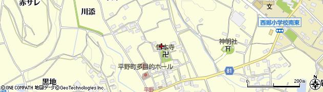 愛知県豊橋市石巻平野町(上郷)周辺の地図