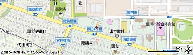 有限会社一本屋 本部周辺の地図