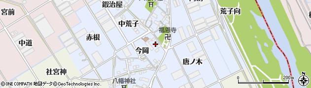愛知県豊川市二葉町周辺の地図