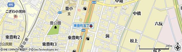 花の庵周辺の地図