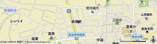 愛知県武豊町(知多郡)冨貴(新薄里)周辺の地図