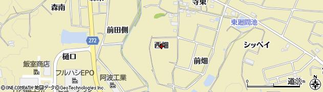 愛知県武豊町(知多郡)冨貴(西畑)周辺の地図