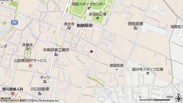 〒671-0252 兵庫県姫路市花田町加納原田の地図
