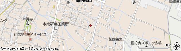 兵庫県姫路市花田町(加納原田)周辺の地図