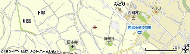 愛知県豊橋市石巻平野町(炭焼)周辺の地図