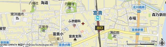 愛知県武豊町(知多郡)冨貴(外面)周辺の地図