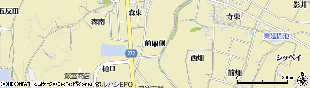 愛知県武豊町(知多郡)冨貴(前田側)周辺の地図