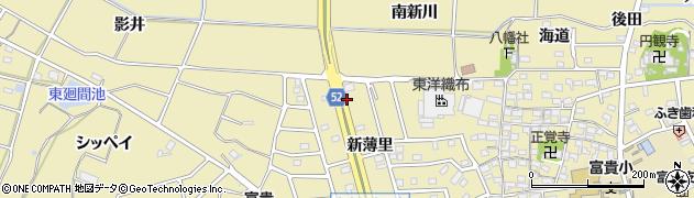 愛知県武豊町(知多郡)冨貴(一ノ坪)周辺の地図