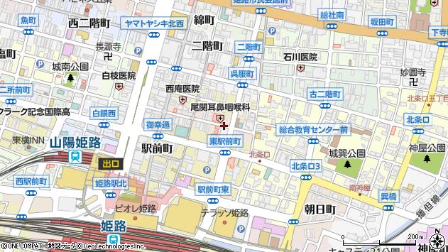 〒670-0925 兵庫県姫路市亀井町の地図