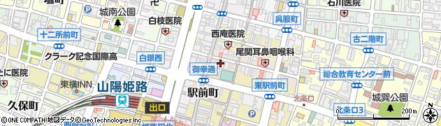 兵庫県姫路市亀井町43周辺の地図