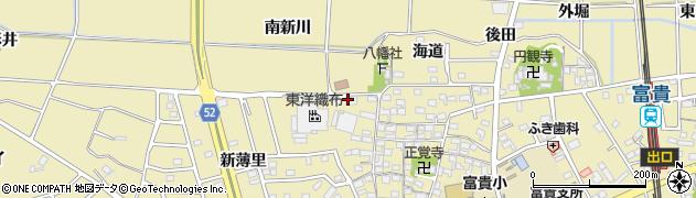 愛知県武豊町(知多郡)冨貴(宮前)周辺の地図