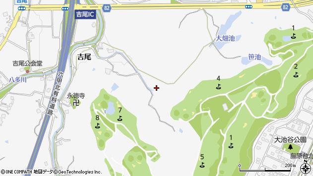〒651-1353 兵庫県神戸市北区八多町吉尾の地図