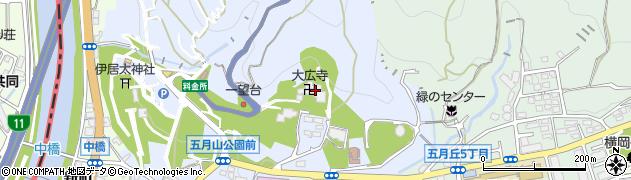大広寺周辺の地図