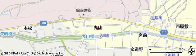 愛知県西尾市吉良町宮迫(丸山)周辺の地図