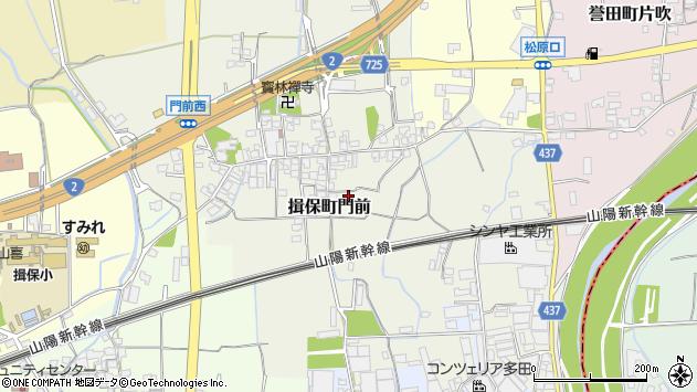 〒679-4153 兵庫県たつの市揖保町門前の地図