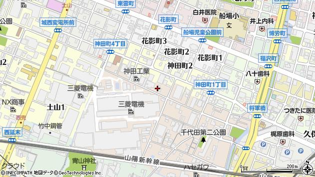 〒670-0994 兵庫県姫路市定元町の地図