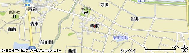 愛知県武豊町(知多郡)冨貴(寺東)周辺の地図