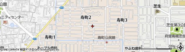 大阪府高槻市寿町周辺の地図