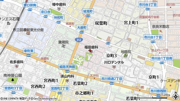 〒670-0833 兵庫県姫路市大善町の地図