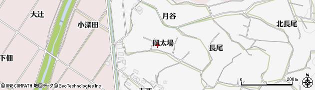 愛知県豊橋市石巻小野田町(岡太場)周辺の地図