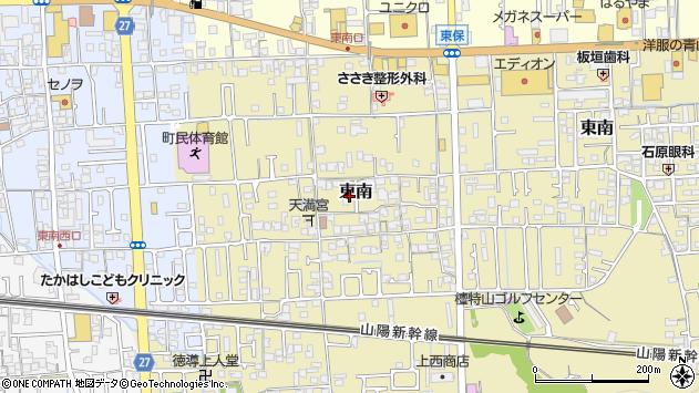 〒671-1523 兵庫県揖保郡太子町東南の地図