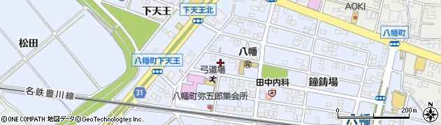 愛知県豊川市八幡町(弥五郎)周辺の地図
