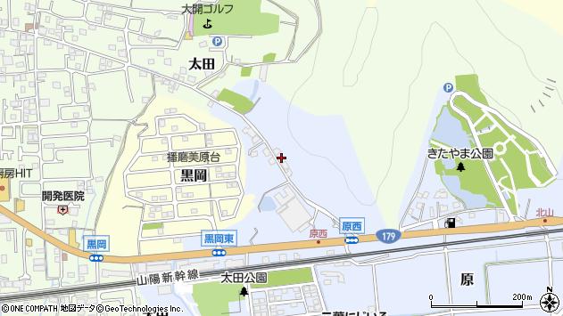 〒671-1502 兵庫県揖保郡太子町原の地図