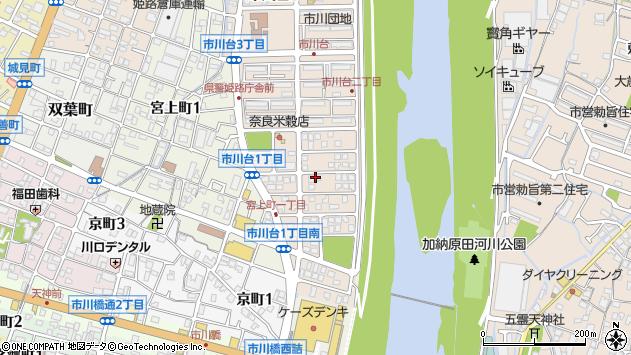 〒670-0822 兵庫県姫路市市川台の地図