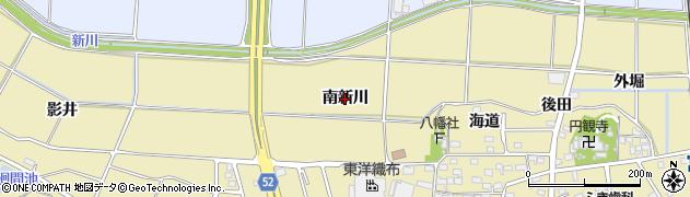 愛知県武豊町(知多郡)冨貴(南新川)周辺の地図
