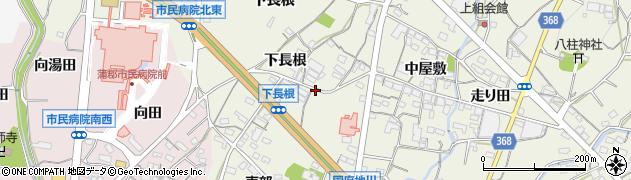 愛知県蒲郡市豊岡町(梶田)周辺の地図